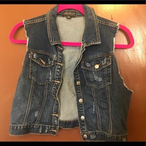 Forever 21 plus denim jacket 2X